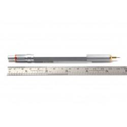 Rotring 800 Silver 0,5mm Mechanical Pencil Knurled Grip Hexagonal