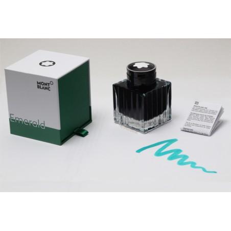 Montblanc Emerald Grün Limited Edition Schreibtinte Tintenfass 50 ml Box NEU