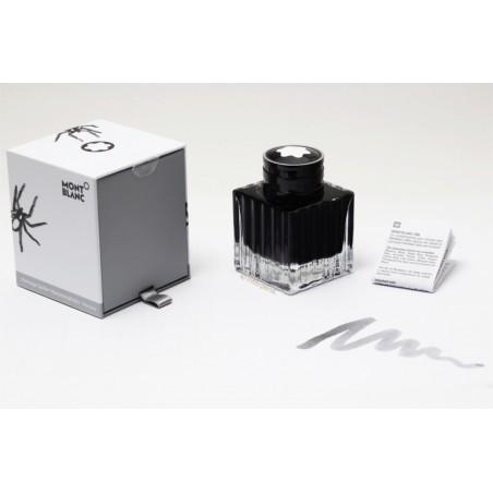 Montblanc Heritage Spider Metamorphosis Web Grey Tinten 50ml Tintenfass OVP