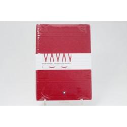 Montblanc Homage to Moctezuma I Notebook 146 Red 125893 NEW